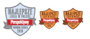 Fundacja Edukacyjna Perspektywy potwierdza, że I LICEUM OGÓLNOKSZTAŁCĄCE IM. BOLESŁAWA CHROBREGO w Gnieźnie jest wśród 500 najlepszych liceów  w Polsce sklasyfikowanych w Rankingu Szkół Ponadgimnazjalnych PERSPEKTYWY 2019 i przysługuje mu tytuł Sr
