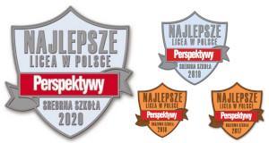 Fundacja Edukacyjna Perspektywy potwierdza, że I LICEUM OGÓLNOKSZTAŁCĄCE IM. BOLESŁAWA CHROBREGO w Gnieźnie jest wśród 500 najlepszych liceów  w Polsce sklasyfikowanych w Rankingu Szkół Ponadgimnazjalnych PERSPEKTYWY 2020 i przysługuje mu tytuł Sr