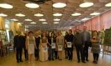 Wystawa prac uczniów I LO w Witkowie