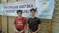Udział tenisistów stołowych w Finale Mistrzostw Województwa.